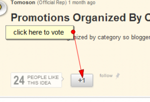 how to vote on tomoson