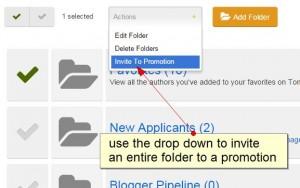 invite a folder