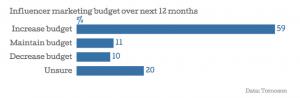Tomoson Budget Data