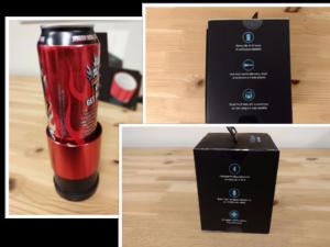 Trüsound Wireless Bluetooth Speaker canholder