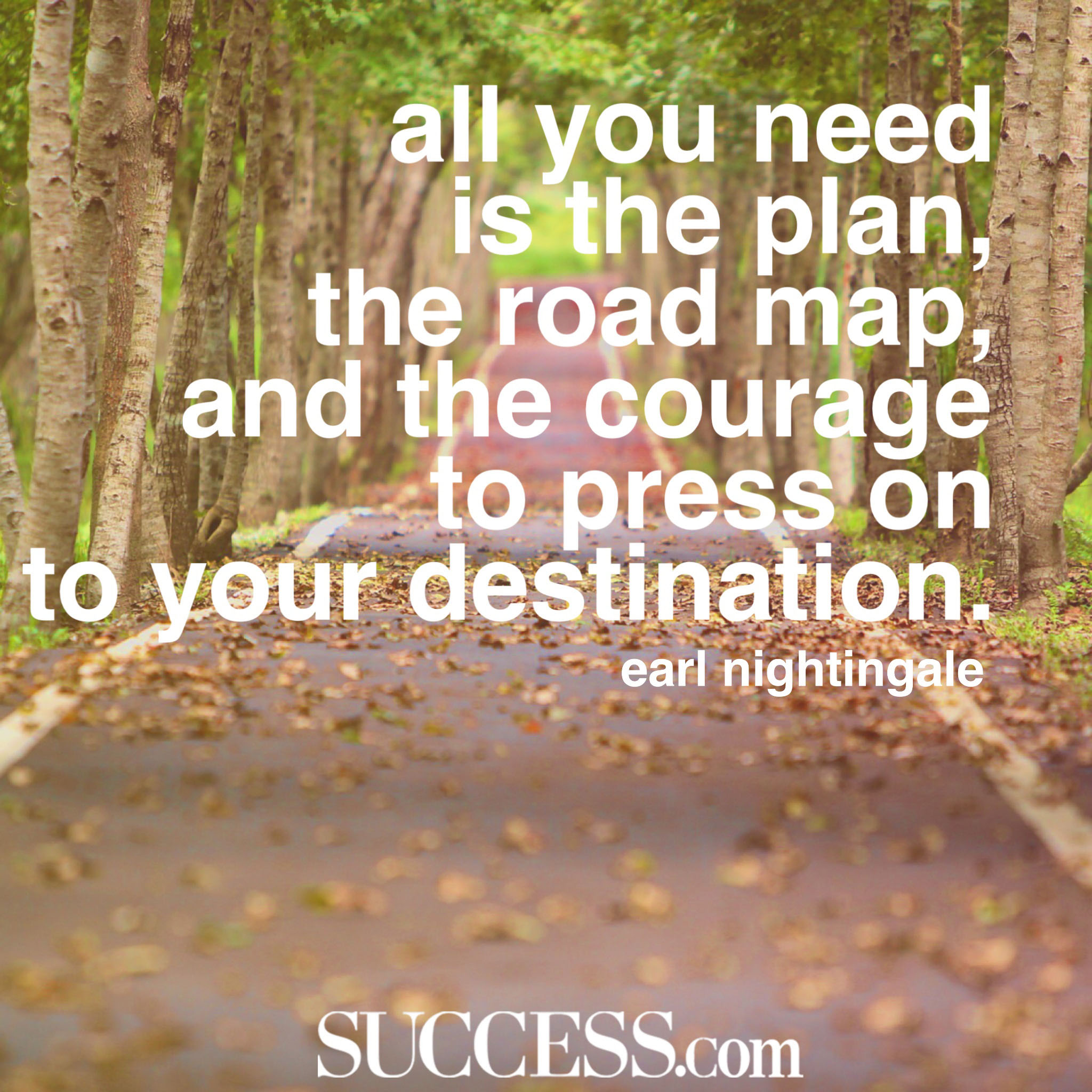 All You Need Is The Plan Quote
