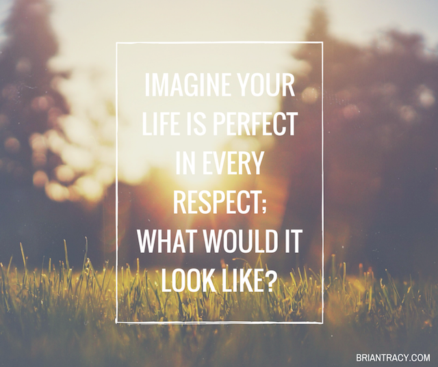 Imagine Your Life Is Perfect In Quote