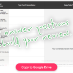 Product Review Creator