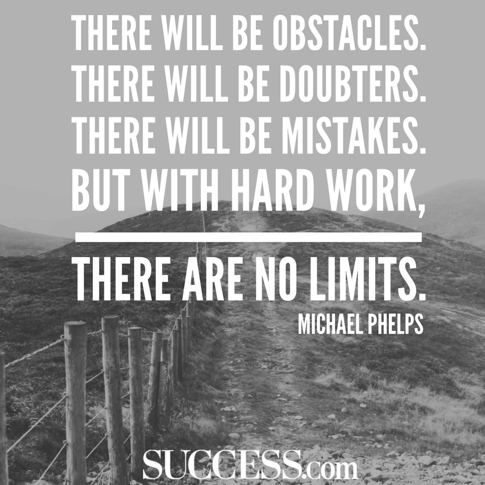 There Will Be Obstacles There Will Quote