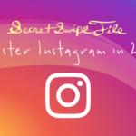 Instagram Secret Swipe File