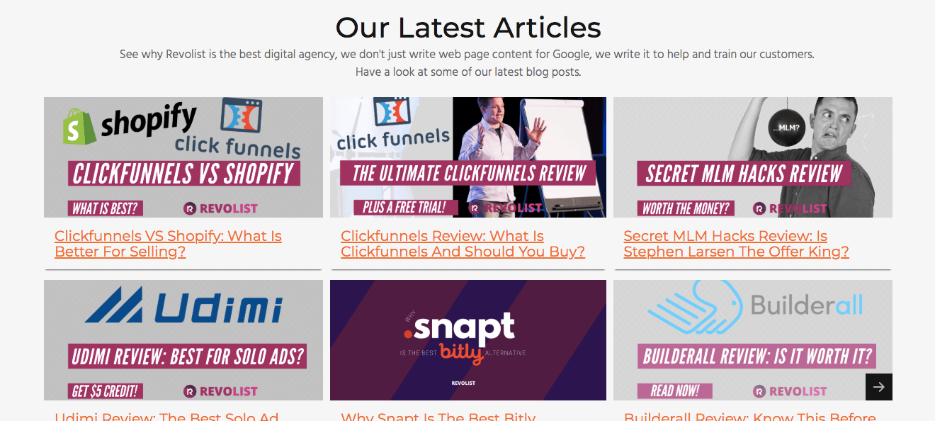 blog articles content