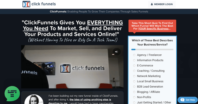 Clickfunnels Membership Area for Beginners