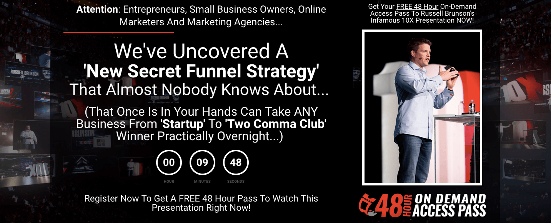 funnel builder secrets screenshot