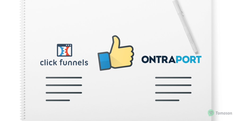 Clickfunnels vs Ontraports pros and cons