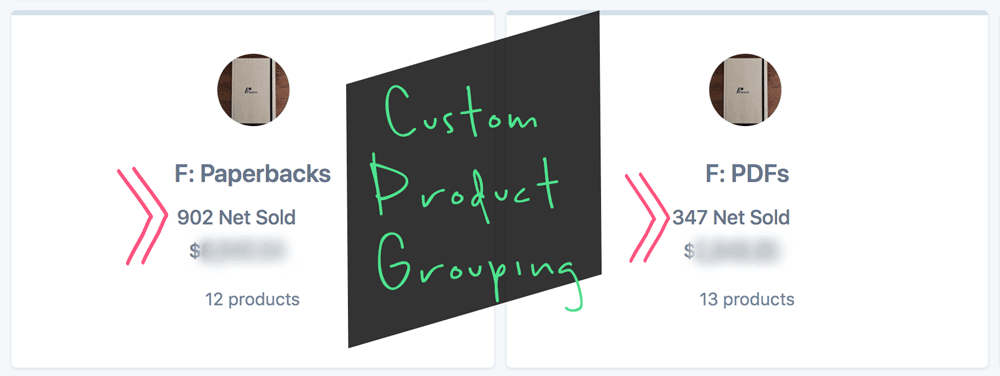 Metorik Product Insights via Product Grouping Example for Woocommerce