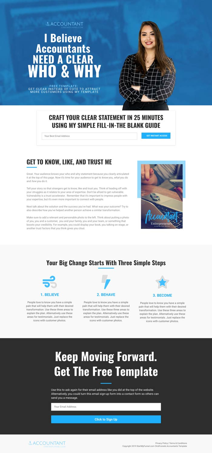 ClickFunnels Accountant CPA Template