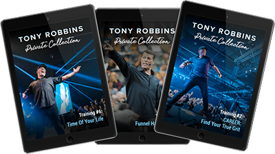 Tony Robbins Training When You're Uncertain