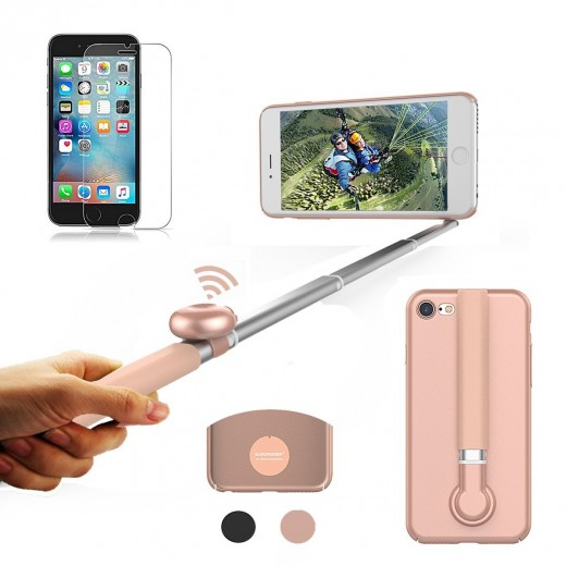 selfie stick cell phone case bluetooth campaign. Black Bedroom Furniture Sets. Home Design Ideas
