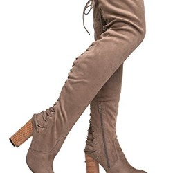 Image Result For Gorgeous Lace Up Over The Knee Boot Vegan Suede