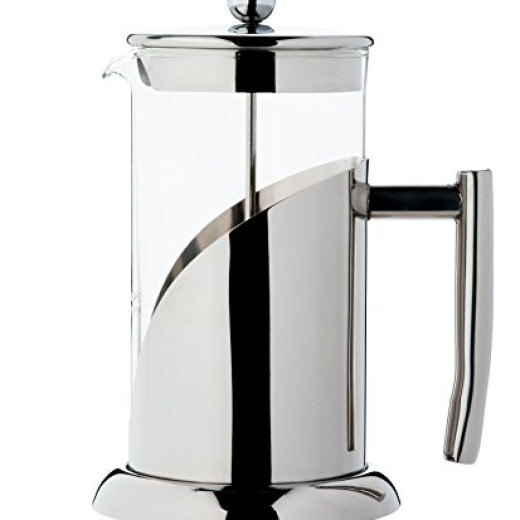 Non Glass Coffee Maker : French Press Coffee Maker Tea Maker by BitElegant 34 Oz, 8 Coffee Cups, 1 Litter, 4 Customary ...