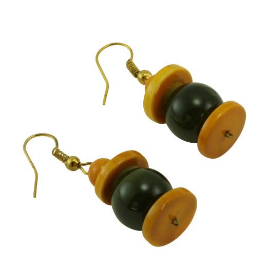 etsy wood earrings by unkudu caign