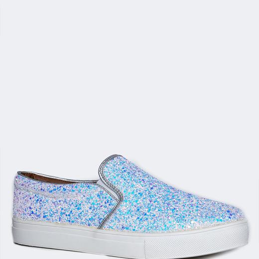 Image result for j adams glitter slip on white sneaker