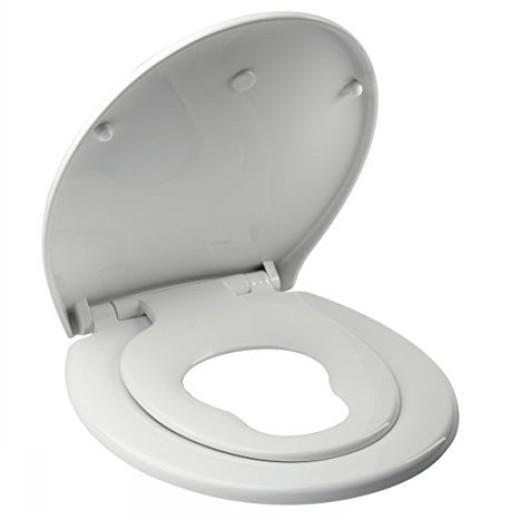 Royal Crown Family Toilet Seat NEW ElongatedRound Thin Design