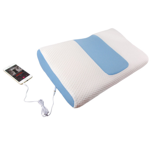 Music player pillow campaign for Music speaker pillow