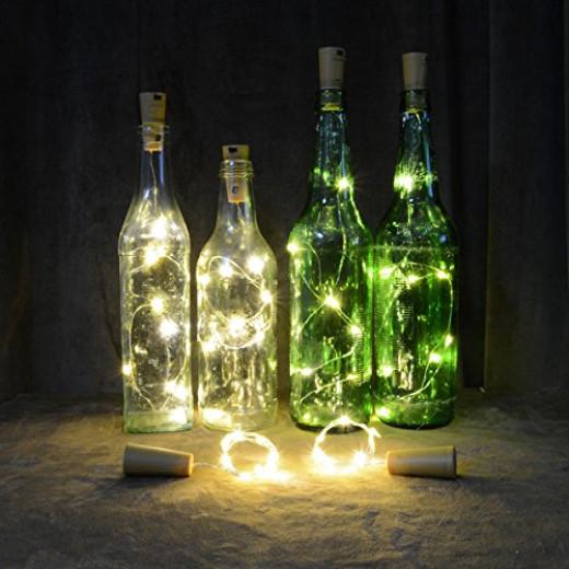 String Lights In Wine Bottles : Homeleo Wine Bottle Cork Lights Copper Wire String Lights for Wedding, Festival, Party Decor ...
