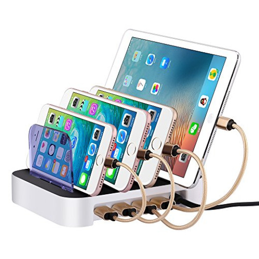 4 Port Usb Electronics Charging Station Campaign