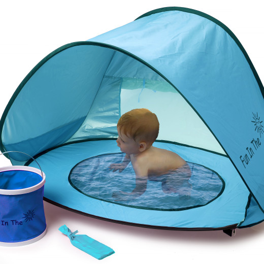 Baby Pop Up Tent with Foldable Bucket Set C&aign. Apply  sc 1 st  Tomoson & Baby Pop Up Tent with Foldable Bucket Set Campaign