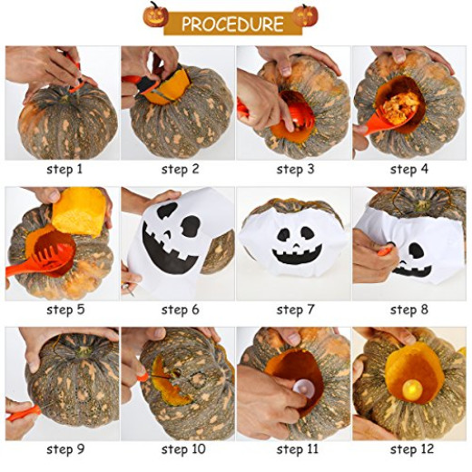 pumpkin carving tools for kids. pbpbox halloween pumpkin carving tools for kids decorations 4 pieces campaign s