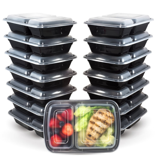 meal prep bento lunch boxes with lids groupon product reviews. Black Bedroom Furniture Sets. Home Design Ideas