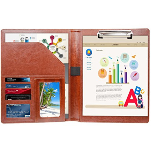 Professional Business Padfolio Clipboard Resume Portfolio Folder