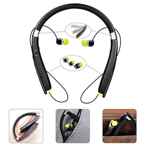 foldable bluetooth headset campaign. Black Bedroom Furniture Sets. Home Design Ideas