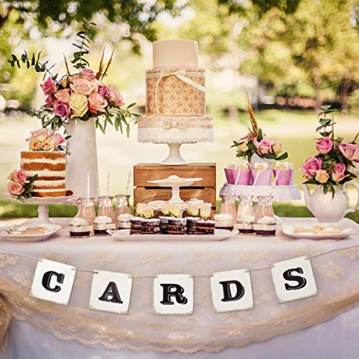 Unomor cards banner sign for rustic wedding decoration birthday unomor cards banner sign for rustic wedding decoration birthday party decorations and party supplies campaign junglespirit Images