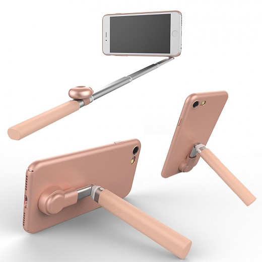selfie stick cell phone case bluetooth campaign. Black Bedroom Furniture Sets. Home Design Ideas