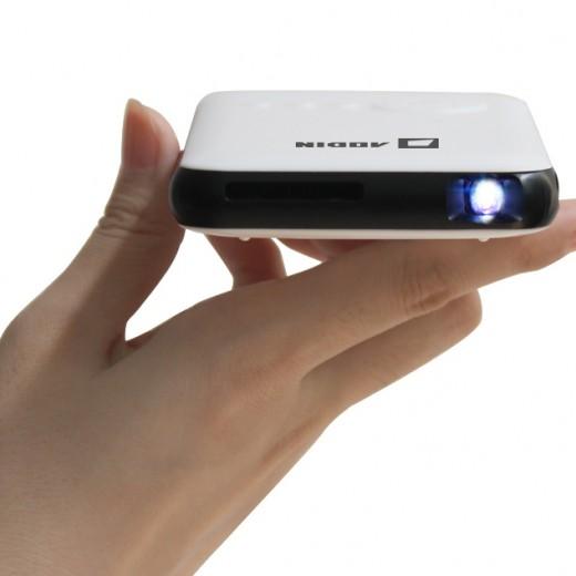 Aodin mini smart android pico projector campaign for Mini smart projector