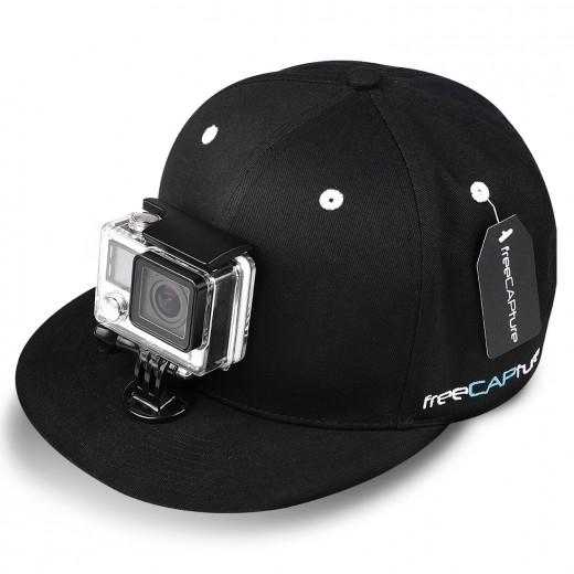 baseball hat for gopro with buckle mount for go caign