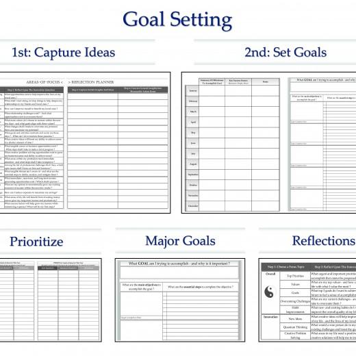 ✿ 2015 Planner ✚ Calendar ✚ Personal Organizer ✚ 12 Month Goal