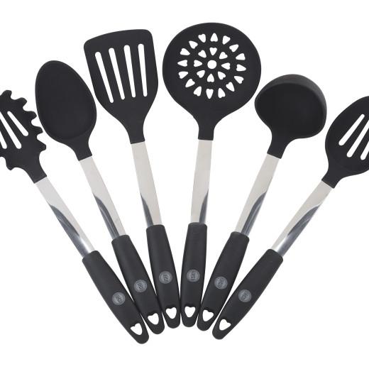 Oishii kitchen utensil set 6 piece high quality campaign for Gambar kitchen set high quality